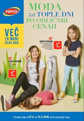 Pepco katalog Moda za tople dni