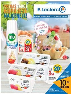 E Leclerc katalog Ljubljana do 03. 06.