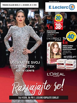 E Leclerc katalog Beauty Maribor do 19. 05.