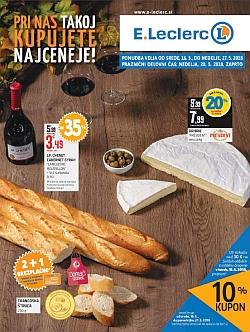 E Leclerc katalog Ljubljana do 27. 05.