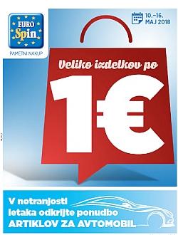 Eurospin katalog do 16. 05.