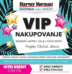 Harvey Norman katalog Vip nakupovanje do 30. 05.