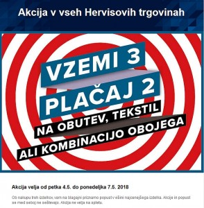 Hervis vikend akcija do 07. 05.