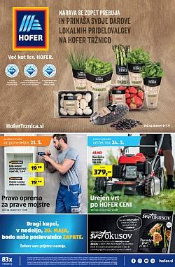 Hofer katalog od 21. 05. in od 24. 05.
