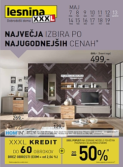 Lesnina katalog Pohištvo in dodatki za dom