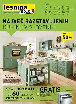 Lesnina katalog Kuhinje do 19. 05.