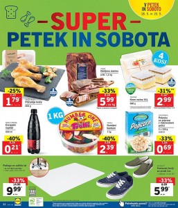 Lidl super petek in sobota do 19. 05.