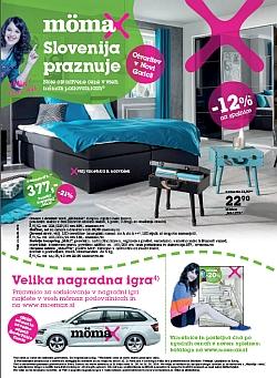 Momax katalog Slovenija praznuje