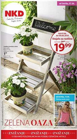 NKD katalog Zelena oaza od 07. 06.