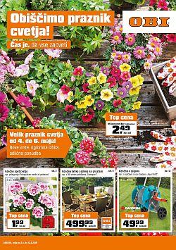 OBI katalog Praznik cvetja do 13. 05.