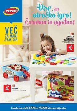 Pepco katalog Vse za otroško igro