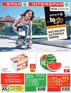 Spar in Interspar katalog do 15. 05.