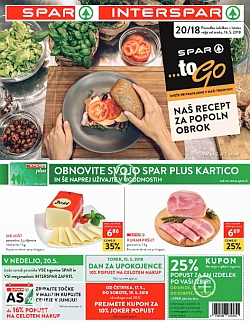 Spar in Interspar katalog do 22. 05.