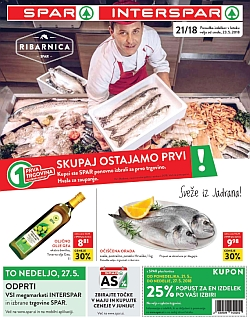 Spar in Interspar katalog do 29. 05.