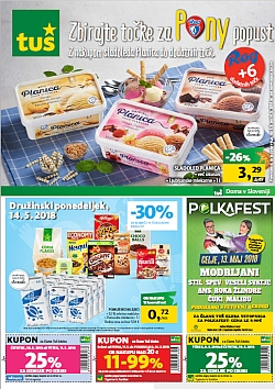Tuš katalog trgovine in franšize do 14. 05.