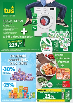 Tuš katalog trgovine in franšize do 21. 05.