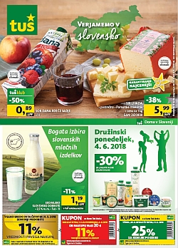Tuš katalog trgovine in franšize do 04. 06.