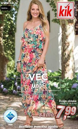 KiK katalog Več mode