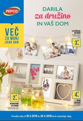 Pepco katalog Darila za družino in vaš dom