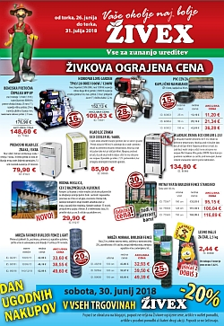 Živex katalog do 31. 07.
