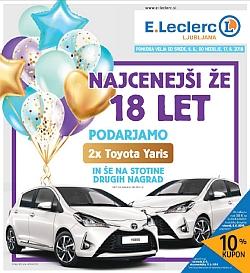 E Leclerc katalog Ljubljana do 17. 06.