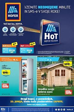 Hofer katalog od 18. 06. in od 21. 06.