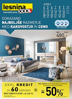 Lesnina katalog XXXL popusti na pohištvo
