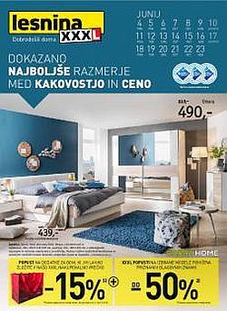 Lesnina katalog XXXL popusti na pohištvo in dodatke za dom