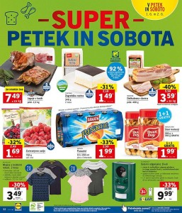 Lidl super petek in sobota do 02. 06.