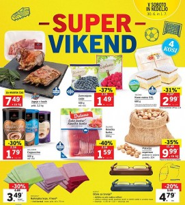 Lidl super vikend do 01. 07.