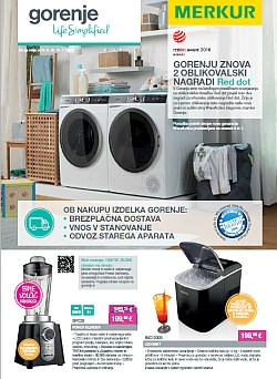 Merkur katalog Gorenje do 15. 07.
