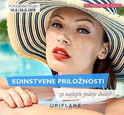 Oriflame mini katalog junij 2018