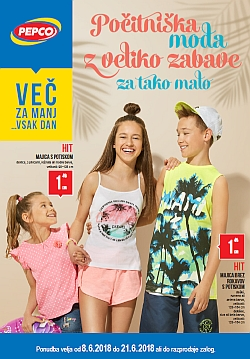 Pepco katalog Počitniška moda do 21. 06.