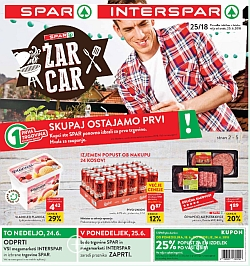 Spar in Interspar katalog do 26. 06.