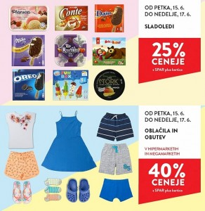 Spar in Interspar vikend akcija do 17. 06.