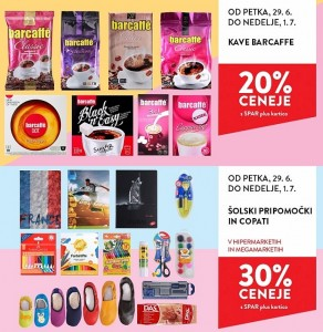 Spar in Interspar vikend akcija do 01. 07.