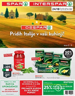 Spar in Interspar katalog do 19. 06.