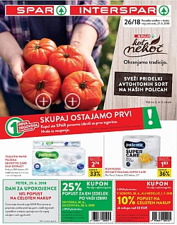 Spar in Interspar katalog do 03. 07.