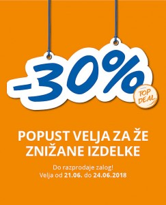 Takko akcija – 30 % do 24. 06.