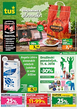 Tuš katalog trgovine in franšize do 11. 06.