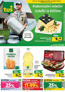 Tuš katalog trgovine in franšize do 24. 06.