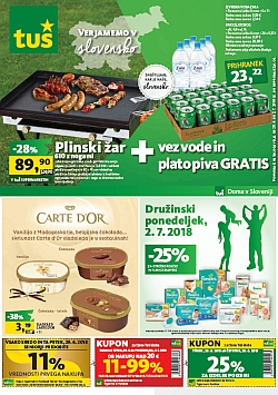 Tuš katalog trgovine in franšize do 02. 07.