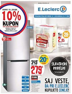 E Leclerc katalog Maribor do 22. 07.