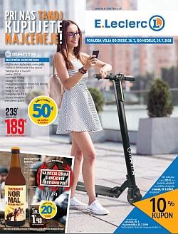 E Leclerc katalog Ljubljana do 29. 07.