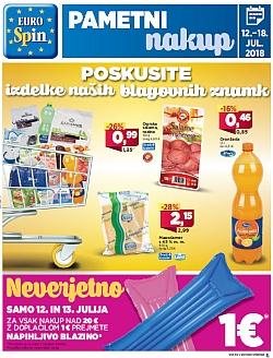 Eurospin katalog do 18. 07.