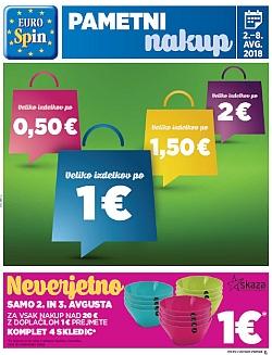 Eurospin katalog do 08. 08.