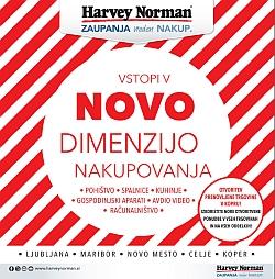 Harvey Norman katalog Nova dimenzija nakupovanja