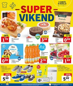Lidl super vikend do 22. 07.