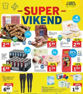 Lidl super vikend do 29. 07.