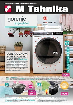 Mercator katalog tehnika Gorenje do 04. 09.